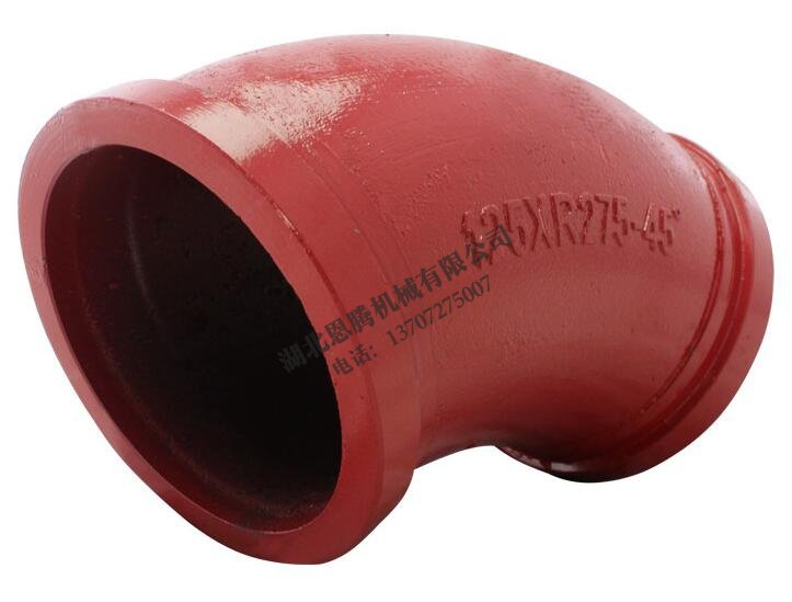 Pump car elbow 125XR275-45
